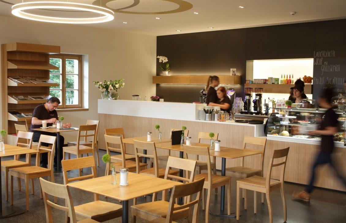 Besucherinfo Musuems Cafe