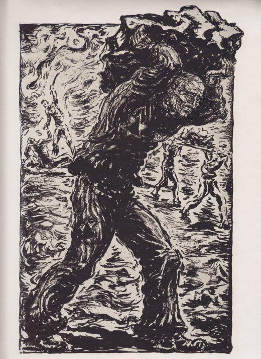 Haeftling im Steinbruch, Richard Grune 1947