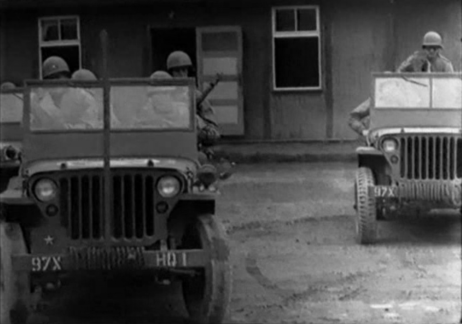 US Signal Corps Jeeps