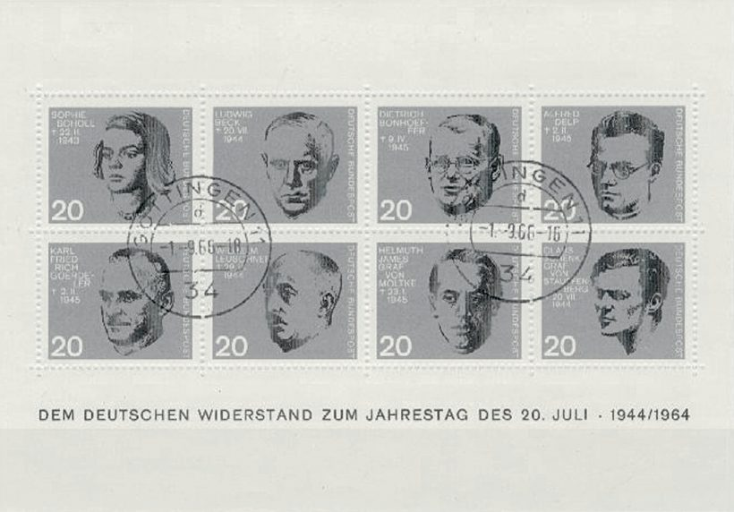 Bonhoeffer Briefmarken 1 1