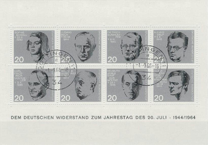 Bonhoeffer Briefmarken 1 1