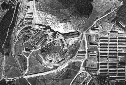Luftbild Flossenbuerg