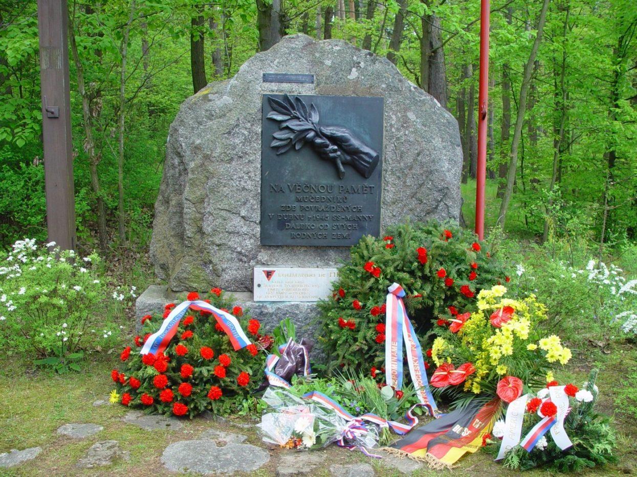 Hradischko gedenkstein