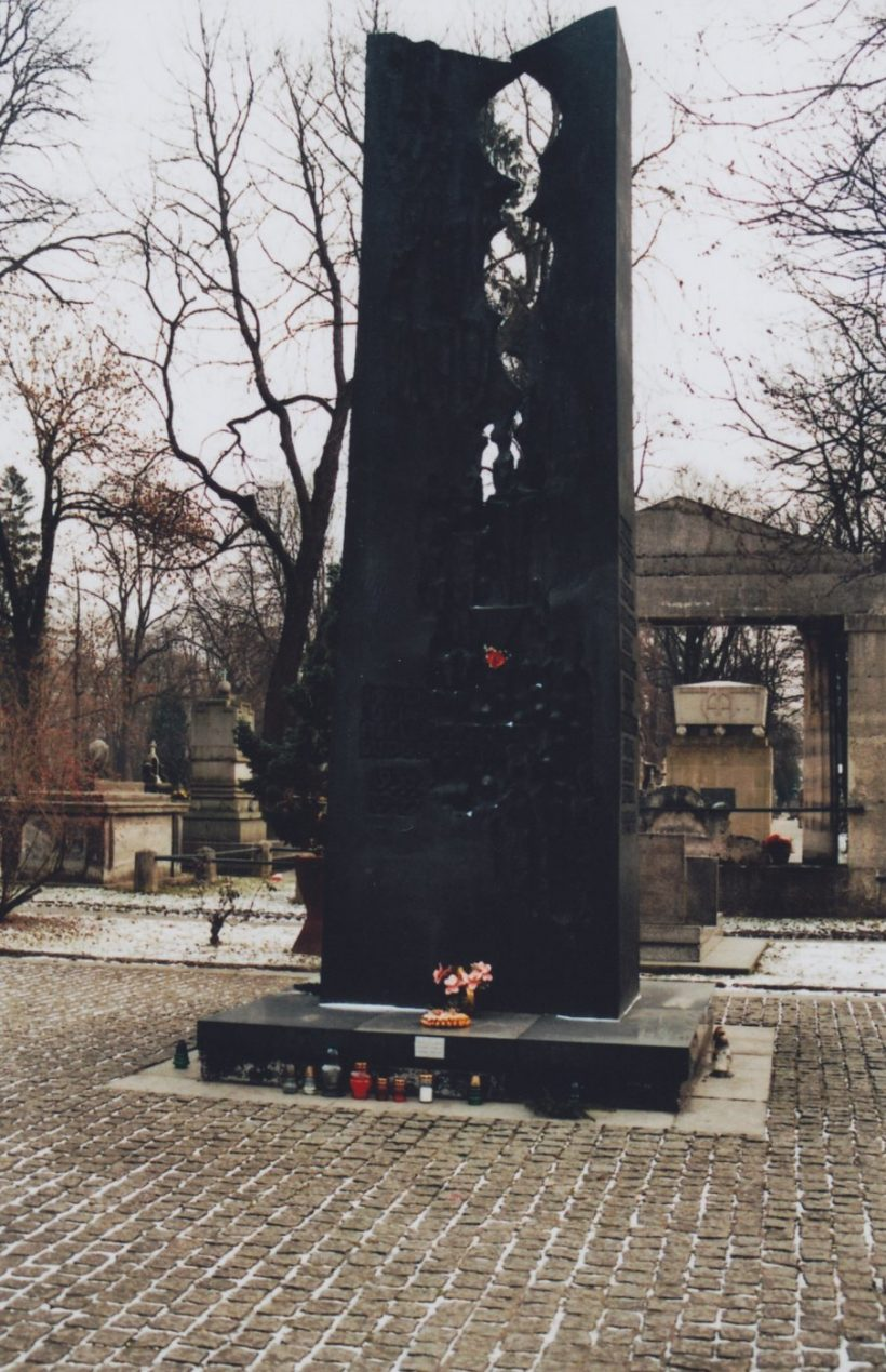 Krakow war memorial