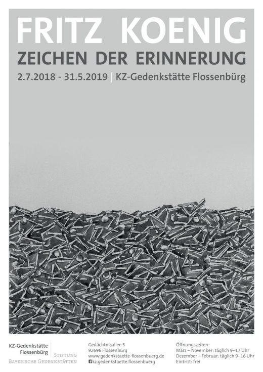 Fritz Koenig Plakat